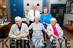 Joan and Denis Lyons from Ballymullen, Tralee celebrating their 60th wedding anniversary with family and friends in Benners Hotel on Sunday.  <br /> Seated l-r, Joan and Denis Lyons and Kathleen O&rsquo;Shea. Standing Walter Lyons and Noreen Quirke.