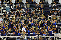 1 September 2011:  FIU's band performs during a break in the action as the FIU Golden Panthers defeated the University of North Texas, 41-16, at FIU Stadium in Miami, Florida.