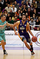 Grimau during Blancos de Rueda Valladolid V Barcelona ACB match. January 20, 2013..(ALTERPHOTOS/Victor Blanco) /NortePhoto