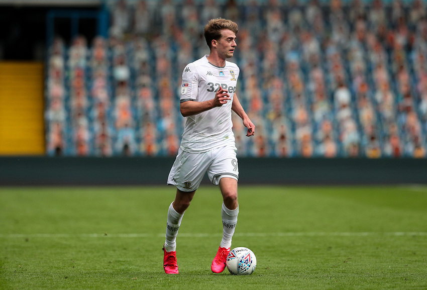 Leeds United's Patrick Bamford in action<br /> <br /> Photographer Alex Dodd/CameraSport<br /> <br /> The EFL Sky Bet Championship - Leeds United v Barnsley - Thursday 16th July 2020 - Elland Road - Leeds<br /> <br /> World Copyright © 2020 CameraSport. All rights reserved. 43 Linden Ave. Countesthorpe. Leicester. England. LE8 5PG - Tel: +44 (0) 116 277 4147 - admin@camerasport.com - www.camerasport.com