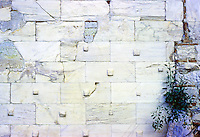 Athens: Detail--Wall of Erechtheion, Acropolis. Photo '82.