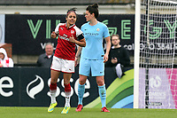 Alex Scott of Arsenal Women on the pitch for the final time during Arsenal Women vs Manchester City Women, FA Women's Super League FA WSL1 Football at Meadow Park on 12th May 2018