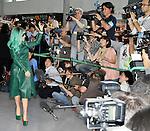 Lady Gaga, Jun 21, 2011 : Lady Gaga, Japan, June 21, 2011 : Singer Lady Gaga arrives at Narita International Airport in Narita, Chiba prefecture, Japan, on June 21, 2011.