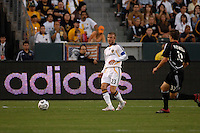 Los Angeles Galaxy midfielder (23) David Beckham during the first half of a SuperLiga semifinal match against D.C. United at the Home Depot Center in Carson, CA on Wednesday, August 15, 2007..