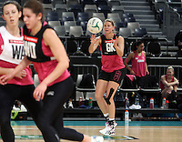 15.09.2012 Silver Ferns Casey Williams in action at training at the Hisense Arena In Melbourne ahead of the first netball test match between the Silver Ferns and Australia. Mandatory Photo Credit ©Michael Bradley.