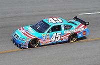 May 2, 2008; Richmond, VA, USA; NASCAR Sprint Cup Series driver Kyle Petty during practice for the Dan Lowry 400 at the Richmond International Raceway. Mandatory Credit: Mark J. Rebilas-US PRESSWIRE