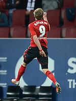 FUSSBALL   1. BUNDESLIGA  SAISON 2012/2013   5. Spieltag FC Augsburg - Bayer 04 Leverkusen           26.09.2012 Jubel nach dem Tor Andre Schuerrle (Bayer 04 Leverkusen)