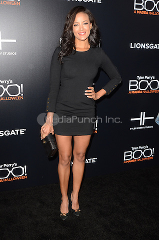 HOLLYWOOD, CA - OCTOBER 17: Heather Hemmens at Tyler Perry's BOO! Premiere at the Arclight Hollywood in Hollywood, California on October 17, 2016. Credit: David Edwards/MediaPunch
