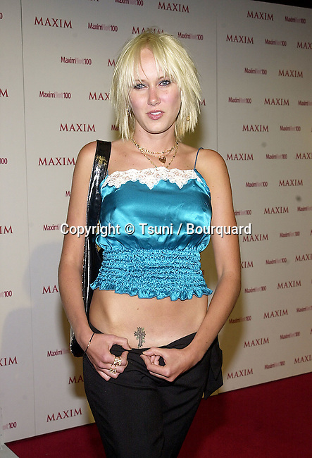 """Kimberley Stewart arriving at the party organize by The Magazine Maxim """" Hot 100 """"  at Moomba club in Los Angeles  5/3/2001            -            StewartKimberley14.jpg"""