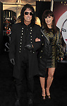 HOLLYWOOD, CA - MAY 07: Alice Cooper and Sheryl Goddard  attend the Los Angeles premiere of 'Dark Shadows' at Grauman's Chinese Theatre on May 7, 2012 in Hollywood, California.