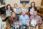 The Launch of the 2017 Spa/Fenit Hospice Calendar at the TRAD FOR CHARITY music event in the The Westend Bar, Fenit on Sunday. Pictured front Nuala Finnegan, James McCarthy, Brian O'Keeffe, Westend Bar, Back Margaret O'Shea,Christina Gallagher, Mary Kelly, Marie McSwiney