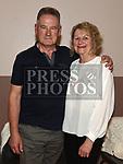 Aidan McCabe and Freeda McHugh at the ceilí held in Duleek Parish Centre. Photo:Colin Bell/pressphotos.ie