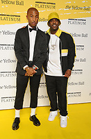 BROOKLYN, NY - SEPTEMBER 10: Pharrell Williams and A$AP Ferg at The Yellow Ball at The Brooklyn Museum in New York City on September 10, 2018. <br /> CAP/MPI99<br /> &copy;MPI99/Capital Pictures
