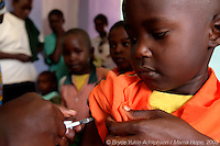 Measles Vaccinations at Mama Tumaini
