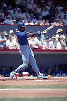 Kansas City Royals Bo Jackson during spring training circa 1990 at Chain of Lakes Park in Winter Haven, Florida.  (MJA/Four Seam Images)