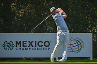 Brandon Grace (RSA) watches his tee shot on 12 during round 2 of the World Golf Championships, Mexico, Club De Golf Chapultepec, Mexico City, Mexico. 3/2/2018.<br /> Picture: Golffile | Ken Murray<br /> <br /> <br /> All photo usage must carry mandatory copyright credit (&copy; Golffile | Ken Murray)