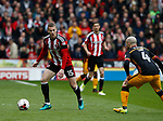 Paul Coutts of Sheffield Utd during the English League One match at Bramall Lane Stadium, Sheffield. Picture date: April 17th 2017. Pic credit should read: Simon Bellis/Sportimage