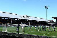 18th July 2020; Craven Cottage, London, England; English Championship Football, Fulham versus Sheffield Wednesday; Neeskens Kebano of Fulham scores his second from a low driven free kick for 4-1 in the 73rd minute