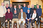 RETIREMENT: Jim Gannon, Clondara who retired from Tegas celebrating with family and friends at Stokers Lodge restaurant and bar on Friday seated l-r: Tom Egan, Eamon Condon, Jim Gannon, Noel O'Mahony and Pamela Teahan. Back l-r: Denis O'Regan, Tommy Costello, Padraig Teahan, Jackie Power, Denis O'Connor, Christy Murray, Freddy Lynch, Tadgh McMahon and Raymond Roche.