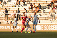 Boyds, MD - Saturday June 03, 2017: Havana Solaun, Rachel Daly during a regular season National Women's Soccer League (NWSL) match between the Washington Spirit and Houston Dash at Maureen Hendricks Field, Maryland SoccerPlex.