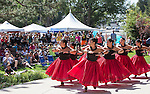 A photograph from the Aloha Festival in Reno on Saturday, August 27, 2016.