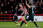 Chris Basham of Sheffield United shoots at goal during the Premier League match at Bramall Lane, Sheffield. Picture date: 5th December 2019. Picture credit should read: James Wilson/Sportimage