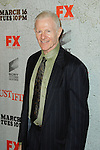 RAYMOND BARRY. Arrivals to the premiere screening of the FX original drama series, Justified, at the Directors Guild of America. Los Angeles, CA, USA. March 8, 2010.
