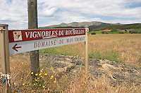 Vignobles Roussillon, Domaine du Mas Cremat, Roussillon, France