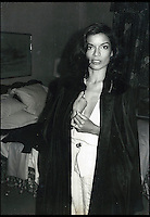 BNPS.co.uk (01202) 558833<br /> Picture: Warhol<br /> <br /> Hhuman rights advocate and former actress Bianca Jagger<br /> <br /> Never-before-seen photographs of celebrities captured in informal moments by the artist Andy Warhol are to be sold. The American pop artist used photography as a medium of art towards the end of his career and had a tendency to snap spontaneous moments. Many of his subjects were showbiz friends who frequented the same nightclubs as Warhol or visited his luxurious beach house or vast 'factory'. They included the likes of John Lennon, Mick Jagger, Elizabeth Taylor, Madonna, Sting, Bruce Springstein, Lizi Minnelli, Diana Ross and Debbie Harry. At the other end of the scale, he also turned his eye to capturing domestic items such as a room service tray, hotel chandeliers and even a row of urinals.