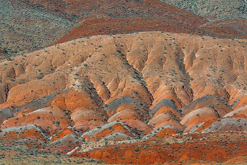 Layers of colorful sandstone in Southern Utah