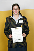 Diving Girls Winner - Charlotte Keesing-Styles. ASB College Sport Young Sportsperson of the Year Awards 2006, held at Eden Park on Thursday 16th of November 2006.<br />
