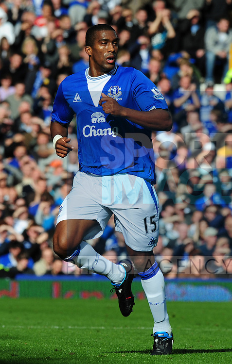 Sylvain Distin of Everton
