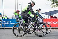 Picture by Allan McKenzie/SWpix.com - 24/09/2017 - Cycling - HSBC UK City Ride Liverpool - Albert Dock, Liverpool, England - HSBC UK, Lets ride, city ride.