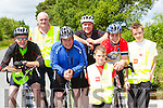 Timmy O'Sullivan Headford, Dermot O'Leary Coolick, Mike Flemingm Gneeveguilla, Tommy finnegan Headfore,Brian O'Leary <br /> Coolick  Daniel Hickey Knocknagree, Conor O'Leary Coolick at  the Tour de Sliabh Luachra  on Sunday
