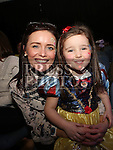 Lucy and Linda Carter at the Princess Ball in the Barbican.<br /> <br /> Photo - Jenny Matthews