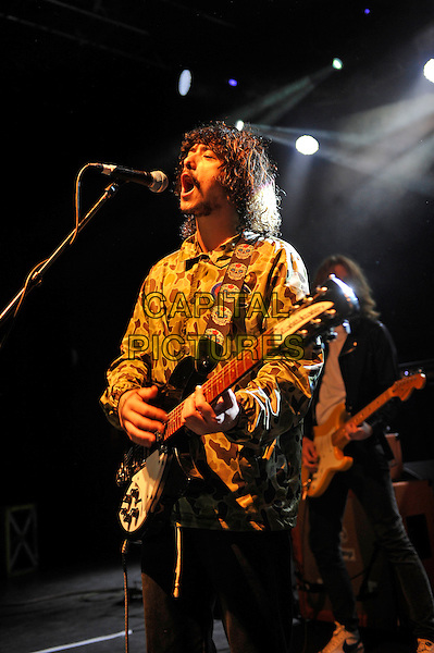 LONDON, ENGLAND - SEPTEMBER 9: Dylan Frost of 'Sticky Fingers' performing at Shepherd's Bush Empire on September 9, 2016 in London, England.<br /> **EXCLUSIVE - SPECIAL RATES APPLY**<br /> CAP/MAR<br /> &copy;MAR/Capital Pictures