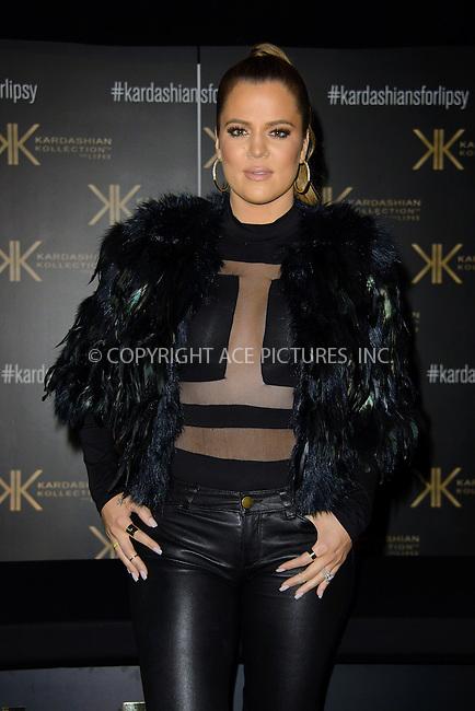 WWW.ACEPIXS.COM<br /> <br /> US Sales Only<br /> <br /> November 15 2013, London<br /> <br /> Khloe Kardashian attends the Kardashian Kollection for Lipsy photocall on November 15 2013  at Gilgamesh. London.<br /> <br /> By Line: Famous/ACE Pictures<br /> <br /> <br /> ACE Pictures, Inc.<br /> tel: 646 769 0430<br /> Email: info@acepixs.com<br /> www.acepixs.com