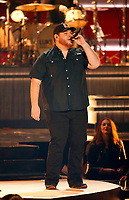 NASHVILLE, TN - NOVEMBER 14:  Luke Bryan and Luke Combs appears on the 52nd Annual CMA Awards at the Bridgestone Arena on November 14, 2018 in Nashville, Tennessee. (Photo by Frederick Breedon/PictureGroup)