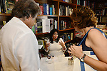 CORAL GABLES, FL - August 17: Author Dr. Carmen Harra signs copies of her book 'The Karma Queens' Guide to Relationships' at Books and Books-Gables on Monday August 17, 2015 in Voral Gables, Florida.  ( Photo by Johnny Louis / jlnphotography.com )