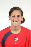 Kelly Isleib, U.S. Under 20 Women's National Team Training Camp, Home Depot Center, Carson, CA. May 24, 2005