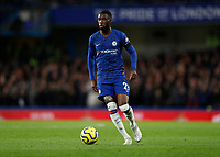 30th November 2019; Stamford Bridge, London, England; English Premier League Football, Chelsea versus West Ham United; Fikayo Tomori of Chelsea - Strictly Editorial Use Only. No use with unauthorized audio, video, data, fixture lists, club/league logos or 'live' services. Online in-match use limited to 120 images, no video emulation. No use in betting, games or single club/league/player publications