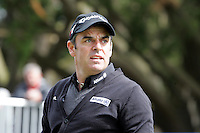 Paul McGinley tees off on the 1st during the third round of the Irish Open on 19th of May 2007 at the Adare Manor Hotel & Golf Resort, Co. Limerick, Ireland. (Photo byEoin Clarke/NEWSFILE).
