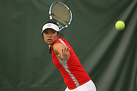 STANFORD, CA - NOVEMBER 11:  Jessica Nguyen of the Stanford Cardinal during picture day on November 11, 2008 at the Taube Family Tennis Stadium in Stanford, California.