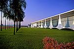 Palácio da Alvodara em Brasília. 1995. Foto de Salomon Cytrynowicz.