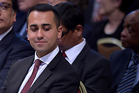 Italy's Labor and Industry Minister and deputy PM Luigi Di Maio .Pope Francis leads a consistory for the creation of five new cardinals  at St Peter's basilica in Vatican on  June 28, 2018
