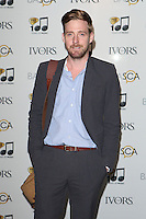 Ricky Wilson arriving for the 59th Ivor Novello Awards, at the Grosvenor House Hotel, London. 22/05/2014 Picture by: Alexandra Glen / Featureflash