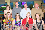 GREAT NIGHT: Enjoying a great night at the Kingdom Greyhound Stadium, Tralee Spina Bifida Association Night at the Dogs on Friday front l-r: Julette O'Sullivan, Maura O'Connor, Amy Walsh and Ann Davies. Back l-r: Stephanie Mullane, Mike Sheehy, Damien Walsh and David Davies.