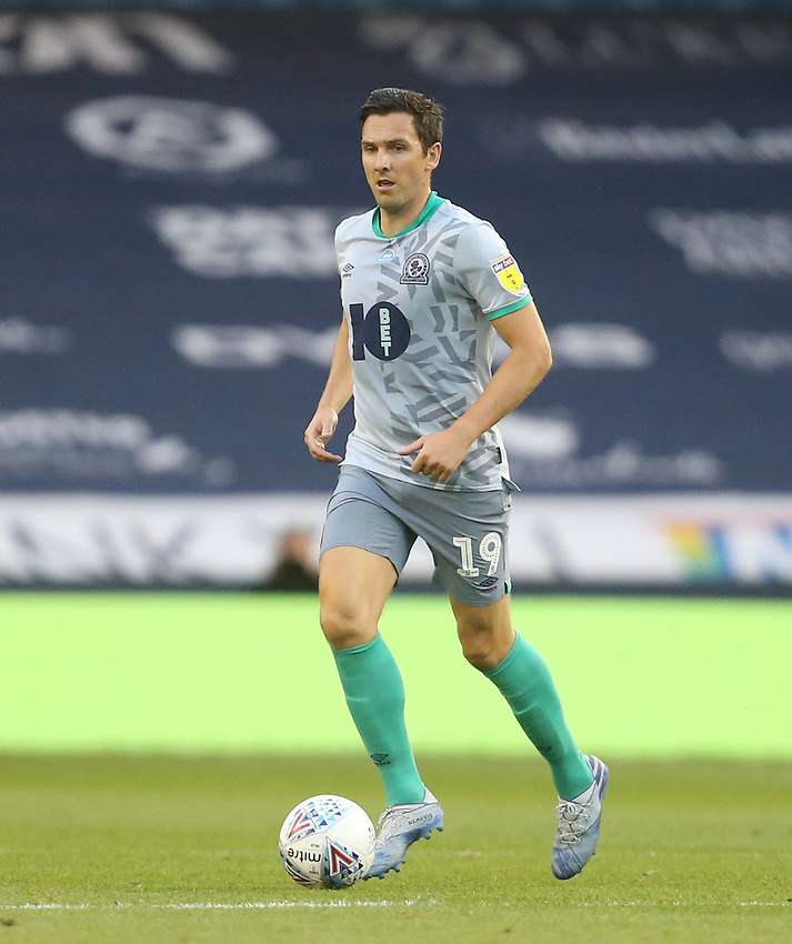 Blackburn Rovers' Stewart Downing<br /> <br /> Photographer Rob Newell/CameraSport<br /> <br /> The EFL Sky Bet Championship - Millwall v Blackburn Rovers - Tuesday July 14th 2020 - The Den - London<br /> <br /> World Copyright © 2020 CameraSport. All rights reserved. 43 Linden Ave. Countesthorpe. Leicester. England. LE8 5PG - Tel: +44 (0) 116 277 4147 - admin@camerasport.com - www.camerasport.com