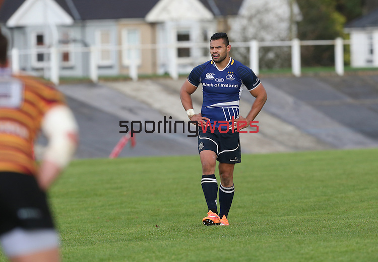 Leinster centre Ben Te'o<br /> British &amp; Irish Cup<br /> Carmarthen Quins v Leinster A<br /> Carmarthen Park<br /> 25.10.14<br /> &copy;Steve Pope-SPORTINGWALES