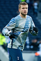 Tottenham Hotspur's Eric Dier during the pre-match warm-up <br /> <br /> Photographer Stephanie Meek/CameraSport<br /> <br /> The Premier League - Tottenham Hotspur v Bournemouth - Saturday 30th November 2019 - Tottenham Hotspur Stadium - London<br /> <br /> World Copyright © 2019 CameraSport. All rights reserved. 43 Linden Ave. Countesthorpe. Leicester. England. LE8 5PG - Tel: +44 (0) 116 277 4147 - admin@camerasport.com - www.camerasport.com